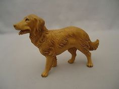 5-034-Scale-Fontanini-Italian-Nativity-DOG-Depose-Italy-Animal-Irish-Setter Fontanini Nativity, Irish Setter, Lion Sculpture, Scale, Dogs, Animals, Red Setter Dog, Weighing Scale, Animales