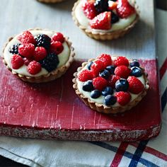 French fruit tarts recipe! I've needed some in my face since I've been back from Santa Fe. I miss Clafoutis.