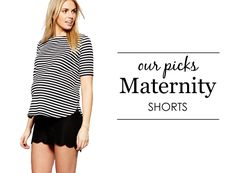 {Project Nursery Picks: Maternity Shorts} #maternity #style