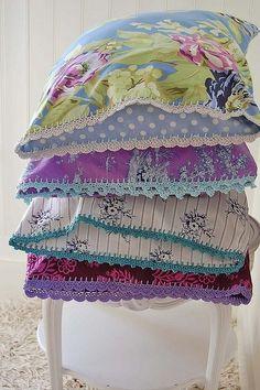 beautiful crocheted edgings