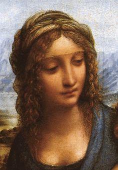 Attr. a Leonardo e allievi, Madonna dei Fusi (part.), 1501 ca., Collezione Privata, N.Y.