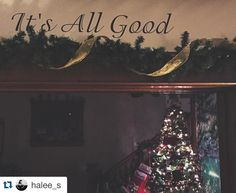 #Repost @halee_s with @repostapp.  Merry Christmas to all and to all a good night.