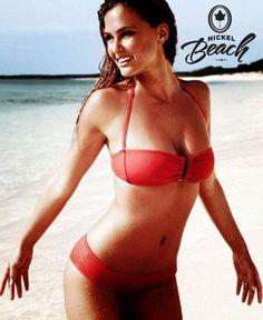Bar Refaeli Is in a Bikini Once Again - I know that Bar's bikini figure has got lots of fans, so here's a Swimsuit model bikini treat for you all! Once again, Bar Refaeli + bikini = amazing. Bar Refaeli, Bikini Sexy, Red Bikini, Bikini Girls, Red Swimsuit, Lingerie Plus Size, Hot Lingerie, Hot Girls, Victoria's Secret