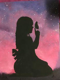 "Annesi dun zeyneb'e ""melek yavrum""diyordu, Isitince Bu sozu kiz merak etti. - Annesi dun zeyneb'e ""melek yavrum""diyordu, Isitince Bu sozu kiz merak etti… Annesi dun ze - Oil Pastel Art, Oil Pastel Drawings, Art Drawings, Cute Wallpaper Backgrounds, Nature Wallpaper, Cute Wallpapers, Shadow Painting, Galaxy Painting, Silhouette Art"