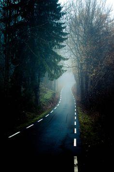 Road to nowhere | Norway (by Jostein Nilsen)
