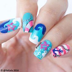 Nails Inspired #Love_Yagala L❤️VE MY-1.4M yagala-ec10%EN yagala-ec10%  Elcorazon-shop.com  yagala2013@gmail.com Periscope: Yagala YouTube