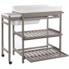 table langer baignoire quax - Lit Avec Table A Langer Integree