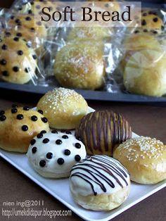 Ideas For Bread Sweet Yeast Quick Bread Recipes, Bread Machine Recipes, Donut Recipes, Baking Recipes, Cake Recipes, Dessert Recipes, Simple Recipes, Roti Bread, Bread Bun