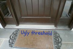 How to Paint The Ugly Threshold