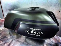 Moto Guzzi V7 Classic fuel tank | Macco Motors