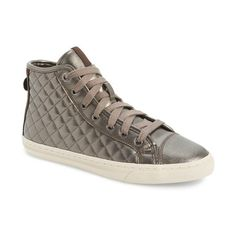 Geox  New Club  High Top Sneaker (1 280 ZAR) ❤ liked on 821738339f3