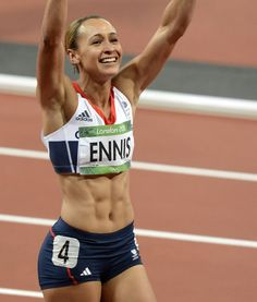 How to get Jessica Ennis' abs - flat stomach exercises & workout tips - Life - Stylist Magazine