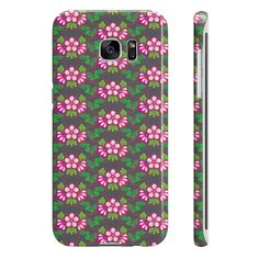 Floral Pattern Cover For Samsung Galaxy S7 Edge  #value #quality #phonecases #case #iPhone #Samsung #siliconephonecases #plasticphonecases #leatherwalletphonecases #phonecovercases
