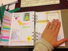Organised Lifestyle: My current setup and inserts in my - August 2014 Planner Organization, Organizing, Diary Planner, Planner Ideas, Household Notebook, Cool Office Supplies, Perfect Planner, Best Planners, August 2014