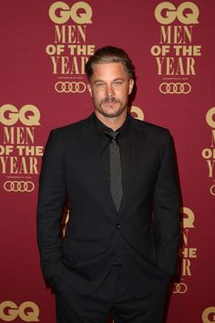 Travis Fimmel Photos - Travis Fimmel attends the GQ Men Of The Year Awards at The Star on November 15, 2017 in Sydney, Australia. - GQ Men of the Year Awards - Red Carpet