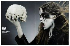 Black metal barbies