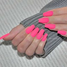 Perfectly Hot Pink Nail Designs picture 2