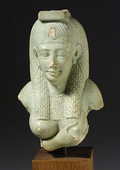 Late Egyptian Art, Lactating Isis, 332 BC - 395 AD (cf images of Virgin Mary as Maria Lactans nourishing infant Jesus, the universal mother goddess)