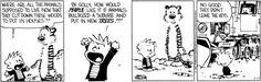 Calvin and Hobbes by Bill Watterson for Mar 17, 2017 | Read Comic Strips at GoComics.com