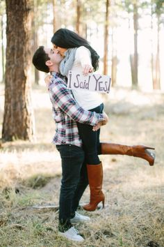 I said yes! http://www.stylemepretty.com/little-black-book-blog/2014/12/24/dreamy-lake-tahoe-engagement-session/ | Photography: This Love of Yours - http://thisloveofyours.com/