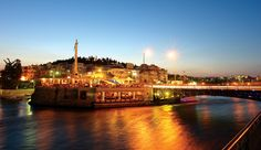 #Chalkida Bridge - live stream Places Ive Been, Paris Skyline, Greece, Bridge, Memories, Island, Live, Colors, Travel