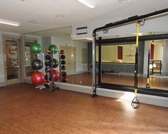 Second level of the gym-Flex Studio