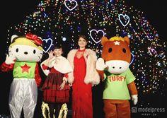 マギコ✡DELUXE™ Official @BlackAngelJOKER  2日2日前 マギー「今年はViViの単独表紙飾る⽬標をクリア出来た。今年以上に来年も充実させたい」 http://mdpr.jp/news/detail/1546128 … JRA中山競馬場クリスマスイルミネーションイベント点灯式にて @mggyy #maggymoon   マギーさん