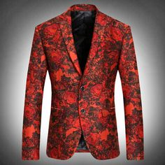 Aliexpress.com : Buy Fancy Night Sky City Print Mens Party Fashion Blazers Italy New Style Notch Lapel Leisure Blazers from Reliable blazers soccer suppliers on oscn7 Store