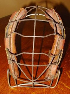 Vintage spider style baseball catcher's mask