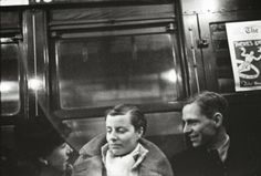 Subway Passengers, New York City from between 1938-1941 by Walker Evans