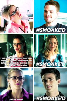 Arrow - Felicity Smoak <3 <3 <3. How can u not LOVED her? She is just so innocent and awkward.
