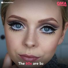 makeup video 'Twiggy lashes' are making a comeback Stuck together, spider-like eyelashes that were huge back in the due to British model Twiggy are making a comeback! Natural Hair Mask, Natural Hair Styles, Lemy Beauty, Latifa, Beauty Makeup, Eye Makeup, Twiggy Makeup, Eyelashes Makeup, Anti Aging Creme