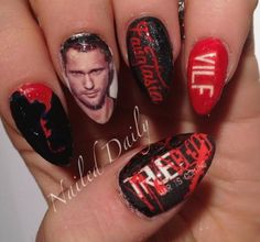 Tv show nails twitch is the leading video platform and community true blood water decals by nailed daily true blood tv show nails cool nails prinsesfo Gallery