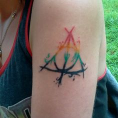 Deathly Hallows Tattoo