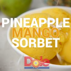 So, the weather outside may still be frightful ❄️ even though it's January, but I bet you can still warm up to a batch of 5 minute,… Mango Sorbet, Pineapple Sorbet, Fruit Sorbet, Sorbet Ice Cream, Vegan Ice Cream, Mango Dessert Recipes, Mango Recipes, Yogurt Recipes, Ice Cream Recipes