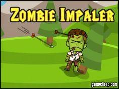 Zombie Impaler Zombie Impaler es un juego de tiro con arco que sigue a la creciente epidemia de zombies que se han levantado de los muertos dentro de los confines de un pequeño pueblo pintoresco. Usa tu arco y flecha para erradicar los no-muertos antes de que tengan la oportunidad de escapar. Apunta a la cabeza para aumentar su puntuación. Aprovechar cada tiro como el destino del mundo descansa sobre sus hombros!