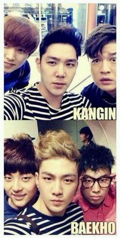 Kangin Super Junior And Baekho NU'EST