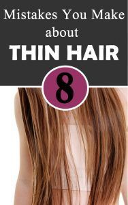 8 Mistakes You Make about THIN HAIR