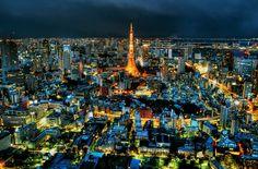 Tokyo Night Colors (HDR) by Miya Miya