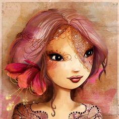 portrait onirique d'une princesse