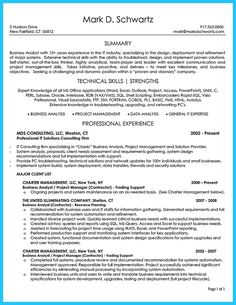 awesome Create Your Astonishing Business Analyst Resume and Gain the Position,