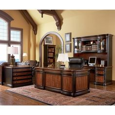 Coaster Company Black and Cherry File Cabinet Office Desk - Free Shipping Today - Overstock.com - 19174049 - Mobile