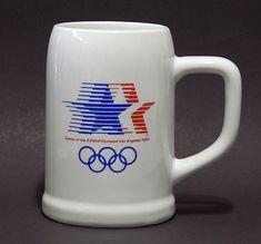 Vintage 1984 Los Angeles U.S. Olympic Games Souvenir Beer Stein Tankard Mug | Sports Mem, Cards & Fan Shop, Vintage Sports Memorabilia, Cups, Mugs | eBay!