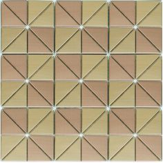 A Huge Selection of Metal Mosaic Stainless Steel Tile From My Building Shop…