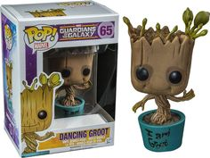 Guardians of the Galaxy Dancing Groot I am Pop! Vinyl Figure
