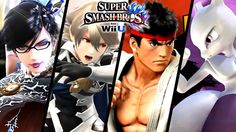 Super Smash Bros - All DLC Character Trailers - Bayonetta Corrin & More Wii U 3DS
