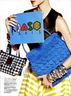 Gabs on Glamour fashion magazine