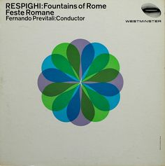 Westminster Records - Fountains of Rome, Rudolph de Harak