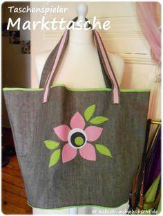 Taschenspieler von Farbenmix Sewing Hacks, Tote Bag, Pattern, Manualidades, Bags, Tutorials, Patterns, Totes, Model