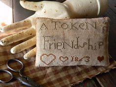Notforgotten Farm: A Token of Friendship ~ free pattern for you ~